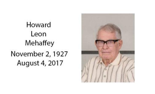Howard Leon Mehaffey