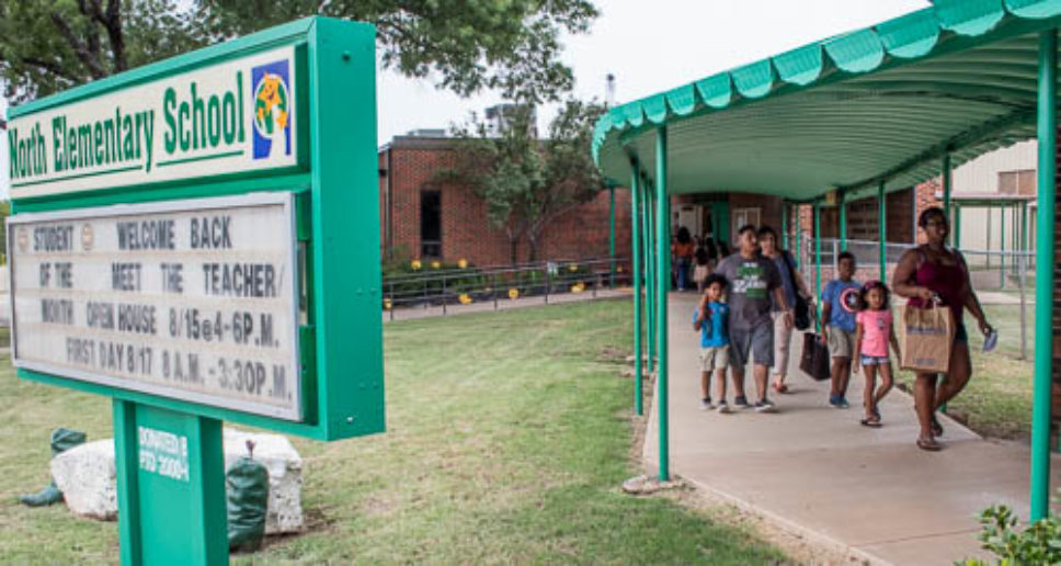 Meeting the teachers at North Elementary