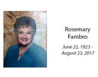 Rosemary Fambro