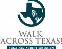 Walk Across Texas to begin Aug. 29
