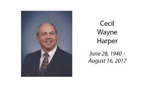 Cecil Wayne Harper