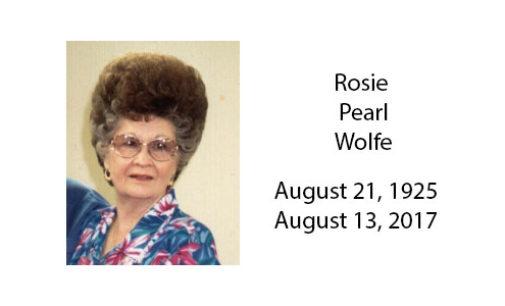 Rosie Pearl Wolfe