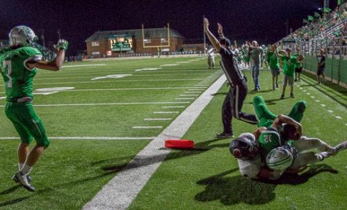 Breckenridge falls to Rams in second football game of season