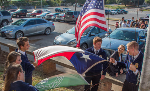 BHS students gather for Constitution Week celebration