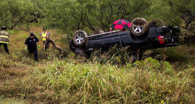 Recent rain creates slick roads, highways in area