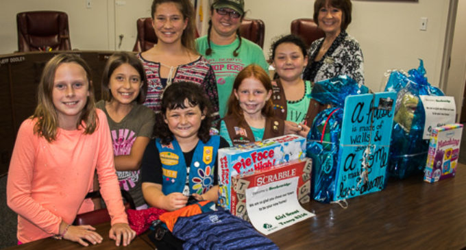 Local Girl Scouts learn hands-on about Hurricane Relief
