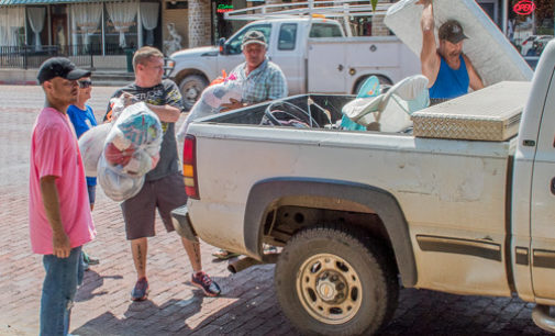 Breckenridge residents turn out to support Hurricane Harvey victims