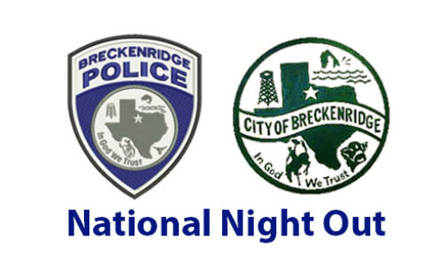 Breckenridge National Night out set for Oct. 3