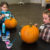 Pumpkin painting time at the Breckenridge Fine Arts Center