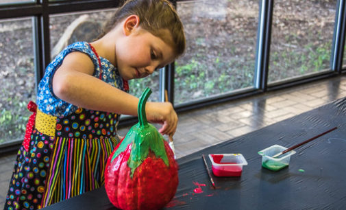 Pumpkin painting to continue this week for kids in grades 2-6
