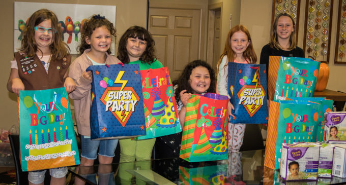 Girl Scouts celebrate founder's birthday with service project