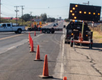 Road work areas to change as construction projects continue