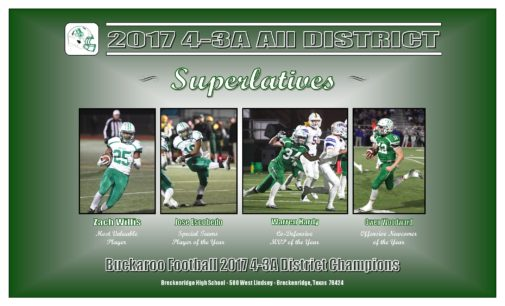 Buckaroos dominate list of All-District awards