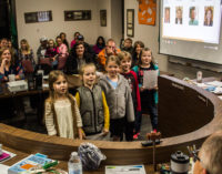 Students show appreciation for school board at meeting