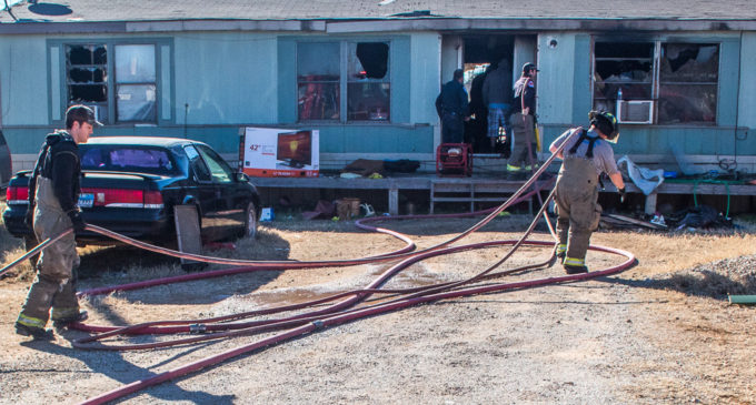 Fire heavily damages local home Friday morning