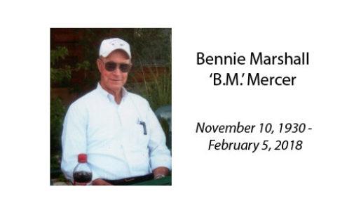 Bennie Marshall 'B.M.' Mercer