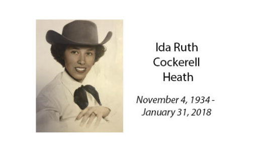 Ida Ruth Cockerell Heath