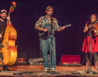 Urban Pioneers entertain local crowd with Hillbilly Swing Music