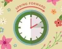 Daylight Saving Time begins today