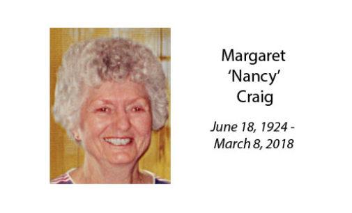 Margaret 'Nancy' Craig