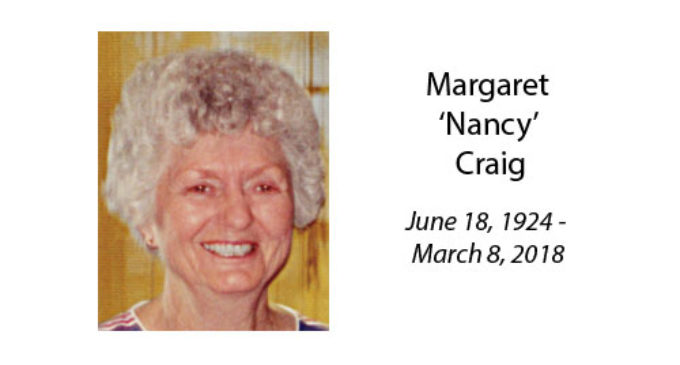 Margaret 'Nancy' Craig