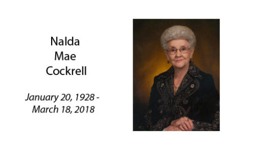 Nalda Mae Cockrell