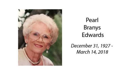 Pearl Branys Edwards