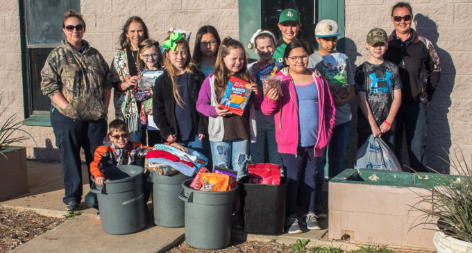 South students collect donations for Animal Shelter