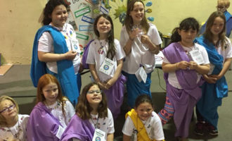 Local Girl Scouts participate in World Thinking Day