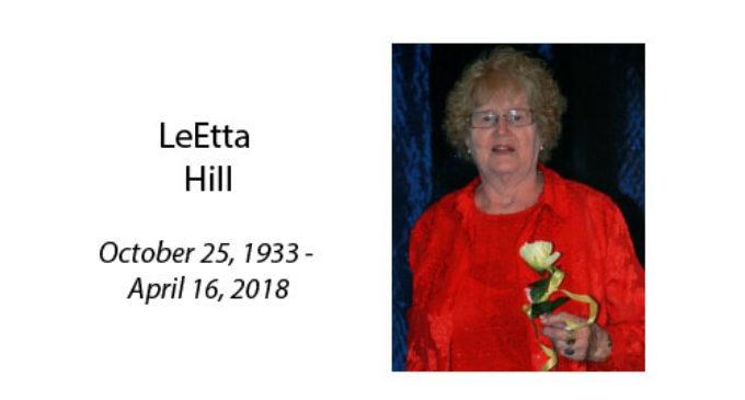 LeEtta Hill