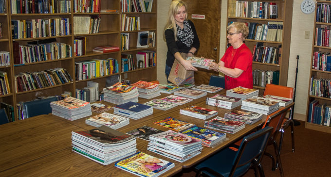 Library book sale scheduled for Saturday morning
