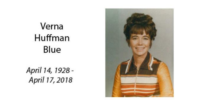 Verna Huffman Blue