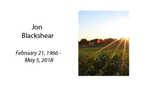 Jon Blackshear