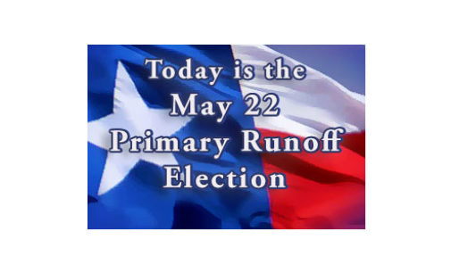 Today is Primary Runoff Election Day