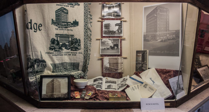Breckenridge museum features Burch Hotel exhibit
