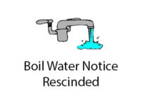 Boil water notice rescinded for Hullum, Court streets