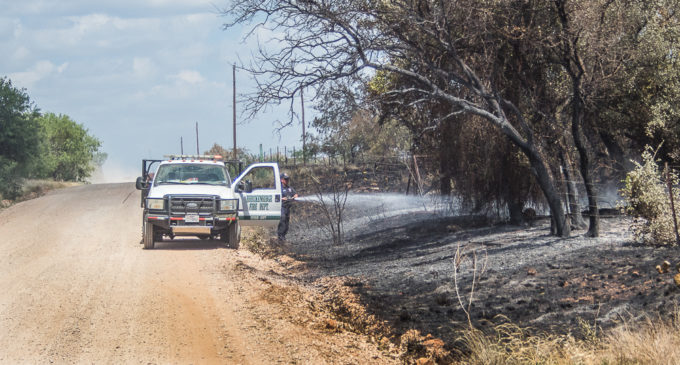 Firefighters get upper hand on wildfire