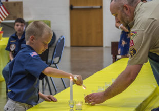 Pack 81 Blue and Gold Banquet