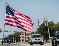 Breckenridge flies Old Glory for Flag Day
