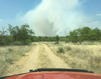 Wildfires keep area firefighters busy over weekend, burn ban continued