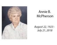 Annie B. McPherson