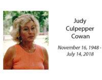 Judy Culpepper Cowan