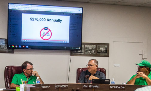 BISD approves tax rate change, sets election, approves decorating travel buses