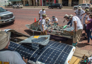 Solar Car Challenge 2018 stops in Breckenridge