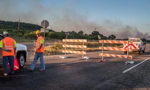 Fire shuts down U.S. Highway 180 between Breckenridge and Palo Pinto