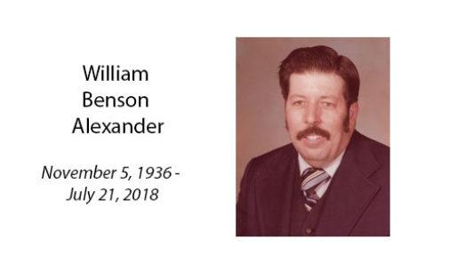 William Benson Alexander