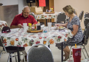Breckenridge Senior Citizens Center: Food and fun