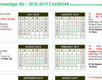 Breckenridge schools start on Thursday, Aug. 16
