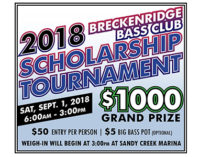 Bass Club to host tournament on Saturday