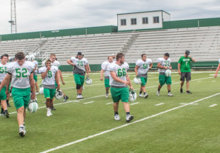 Two-a-days at Buckaroo Stadium